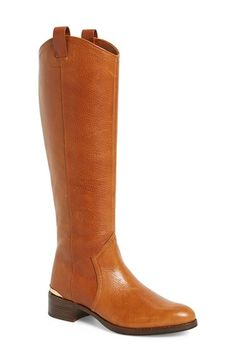 Louise et Cie 'Zada' Knee High Leather Riding Boot (Women) (Wide Calf) (Nordstrom Exclusive) available at #Nordstrom
