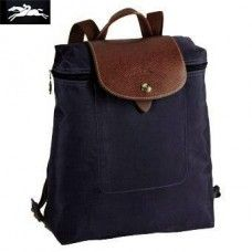 0b00e4d1534f Cheap Longchamp Le Pliage Zippered Backpack Navy Longchamp Neo