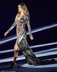 This magic moment: Tom Brady gushed over wife Gisele Bündchen's appearance at the opening of the Olympics in Brazil on August 5