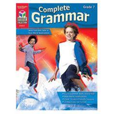 Houghton Mifflin Harcourt Complete Grammar Grade 7 Book