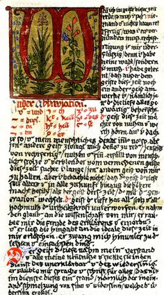 Facsimile page Red Book Jung