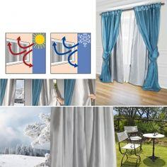 les 25 meilleures id es de la cat gorie rideau isolant thermique sur pinterest rideau isolant. Black Bedroom Furniture Sets. Home Design Ideas