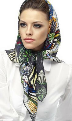 aker e arp scarf 2010 scarf and kerchief pinterest kopft cher tuch binden und. Black Bedroom Furniture Sets. Home Design Ideas
