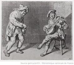 Joueurs de luth et de vielle, C. de Sart