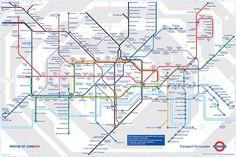 london subway map - Google Search