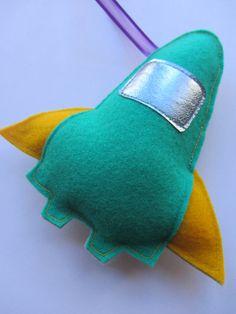 felt rocket