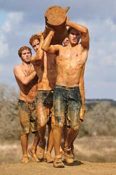 Tough Mudder's Hold Your Wood - Outside Magazine's List of Adventure Races.