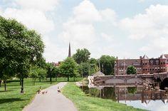 Baker Park, Frederick, Maryland.  Photo by Jessica Hibbard via Flickr.