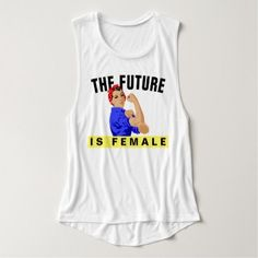 "#women - #""The Future Is Female"" Tank Top"