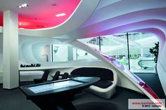 Pictures exceptional project Soriano-Vodafone CCE, République tchèque - Barrisol