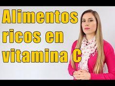 7 Alimentos con más vitamina C que las naranjas - YouTube