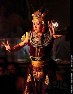 Indonesia, Bali, Ubud, traditional dancer See where the inspiration for our golden Dendritic candles comes from?