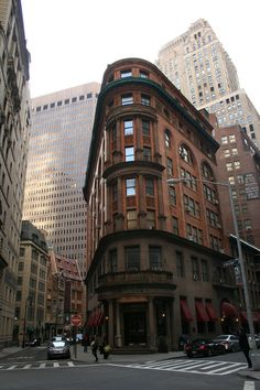 Delmonico's Steakhouse, NYC financial district - it has been THE place to go since it was erected. Still has a cashe.