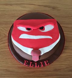 All edible made from fondant , chocolate cake