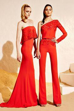 Zuhair Murad Resort collection 2015 Fashion Show Moda Safari, High Fashion, Fashion Show, Fashion Design, Net Fashion, Beautiful Dresses, Nice Dresses, Moda Formal, Resort 2015