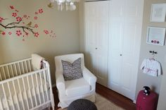 Lovely white nursery 2.