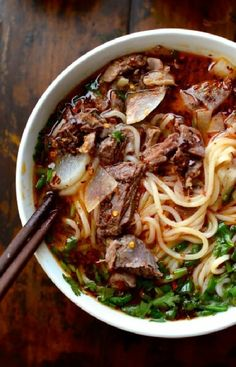 Low FODMAP and Gluten Free Recipe - Poached beef & noodles