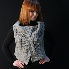 Viviana Crocheted Vest