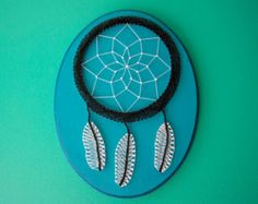 MADE TO ORDER, Dream Catcher String Art, Dreamcatcher, Dreamcatcher Wall Hanging, Boho, Boho Decor, Gifts for Her, Unique Gifts, Feather Art
