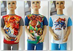 Skylanders Schlafanzug Pyjama Set kurz 100% Baumwolle Gr.104,116,128,140,152