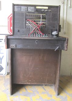 Vtg 1920s Western Electric Bell System Telephone Operators Switchboard WILL SHIP #westernelectric