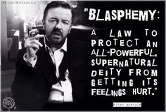 Blasphemy : a law to protect an all-powerful, supernatural deity from ...