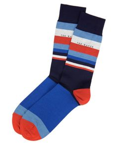 Hip sock patterns - Ted Baker socks TED BAKER PRILOP  Striped socks Navy  Socks 4ec8b29d11c