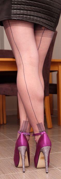 Lovely legs in stockings