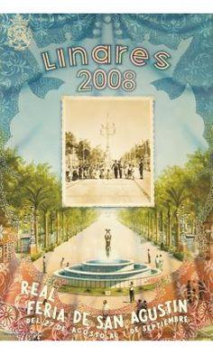 Cartel Feria San Agustín 2008