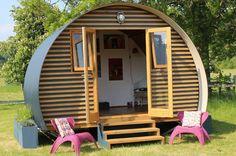 Home   Cabin Habit - shed of the year best cabin best summerhouse Pangbourne Abigail Walker stylish garden wooden cabin buildings in South E...
