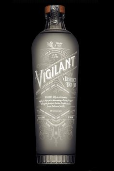 Vigilant Gin is made from some of the finest handpicked berries, refreshing  citrus, and hints of herbs.