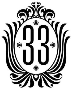 I want to buy a house with an address of 33, so I can use the Disneyland Club 33 sign as my house number on my door and mailbox.