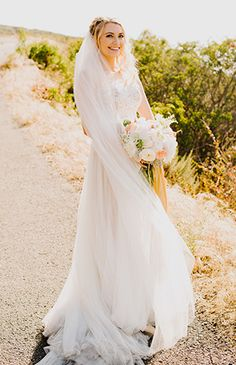 Whimsical Pastel Estate Wedding - Inspired By This