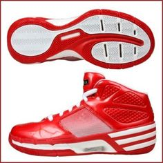 Red Mad Clima Basketball Shoes from Adidas