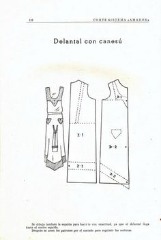 Vintage dress pattern draft {photo only} Vintage Dress Patterns, Vintage Dresses, Sewing Patterns, Pattern Drafting, Vintage Crafts, Sewing Clothes, Drawing, Projects To Try, 1