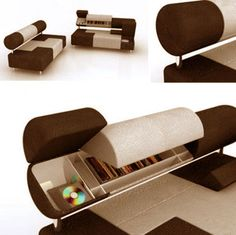 Always good with some storage/seating combination.