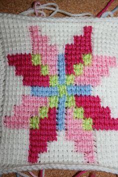 Tunisian crochet | Flickr – Compartilhamento de fotos!
