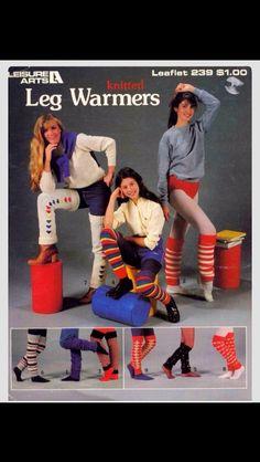 1982 vintage leg warmers