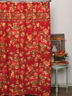 Available now...new April Cornell shower curtains....
