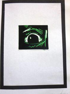 lino print