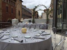 Dinner on the terrace at El Palauet Barcelona