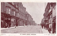 Liverpool Garston St.Mary's Road J W Dible