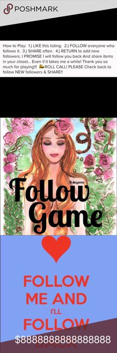 Follow Game 💕💕💕💕💕 💕💕💕💕💕💕💕 Tops Blouses