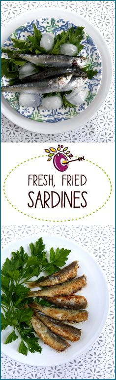 Fresh, fried sardines are too good to be missing out on! They're cheap, easy to cook, fun to eat and super nutritious. Just 3 minutes from pan to plate. Click through for easy instructions.