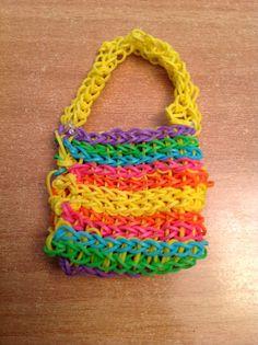 Rainbow loom bag