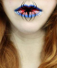 Eva Pernas' Creepy, Yet Beautiful Ideas for Lip Makeup