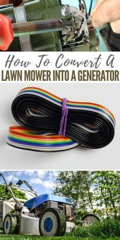 How To Convert a Lawn Mower into a Generator - easy steps