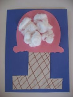 Ice Cream letter I