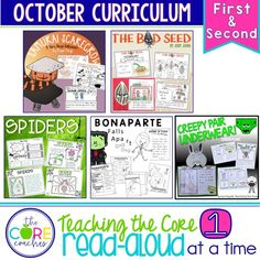 New October Interactive Read-Alouds!