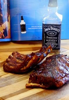 Madame Anne aux fourneaux: Ribs au Jack Daniel's